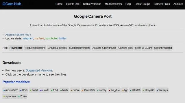 صورة ملف GoogleCamera Mod 8.0 Apk