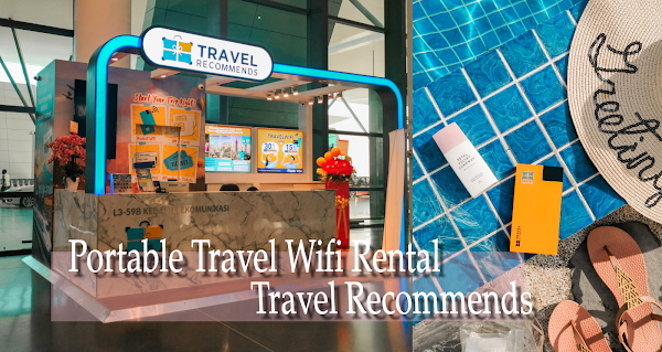 [[Discount Code]] Travel Recommends Portable Travel WiFi Rental Booth is NOW at KLIA 2 !!