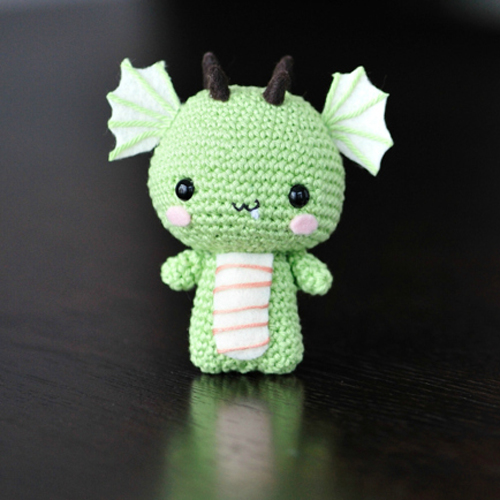 Dragon - Fee Amigurumi Pattern