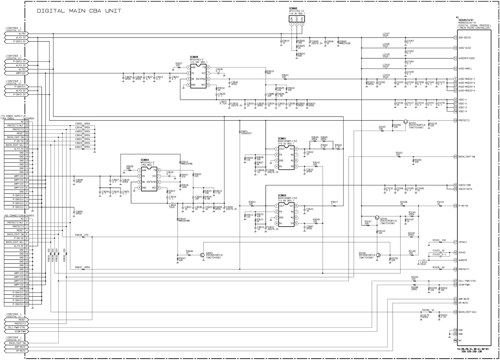 Manguonblog Thng Hai 2016 Electronic Circuit Diagram Tv Vertical Using La78041 La78040 Control Panel For Both Type