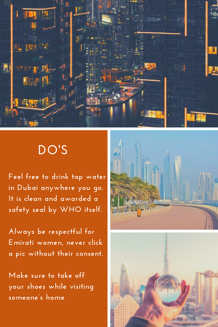 Dubai Do's and Don'ts