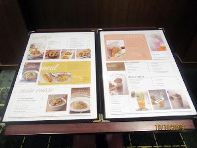 menu di The Premier XXI Pesona Square Depok