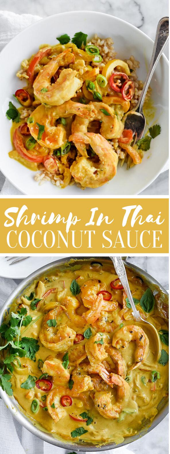 Shrimp In Thai Coconut Sauce #dinner #lunch