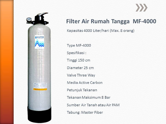 Filter Air Rumah Tangga MF-4000