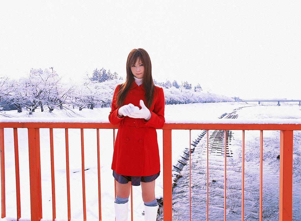 nozomi sasaki white snow 04