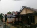 Akibat Hujan Angin, Atap Rumah Warga Desa Sumbermulya Rusak
