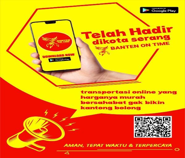 Grand Launching Banten On Time Transportasi Online, Ramah di Kantong Customer