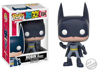 San Diego Comic-Con 2016 Toys R Us Exclusive POP! TV vinyl figure Teen Titans Go! Robin as DC Comics Batman from Funko