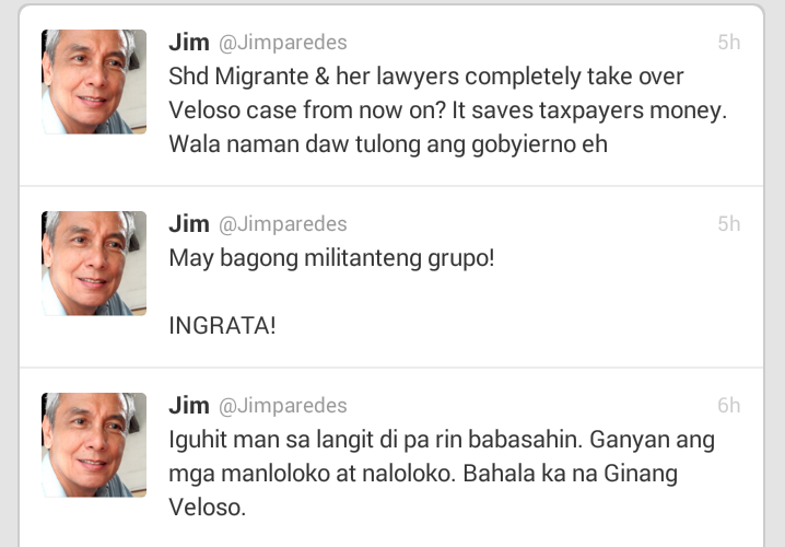 Fashion Pulis Tweet Scoop Jim Paredes On His Alleged: Fashion PULIS: Tweet Scoop: Jim Paredes Hits The Veloso
