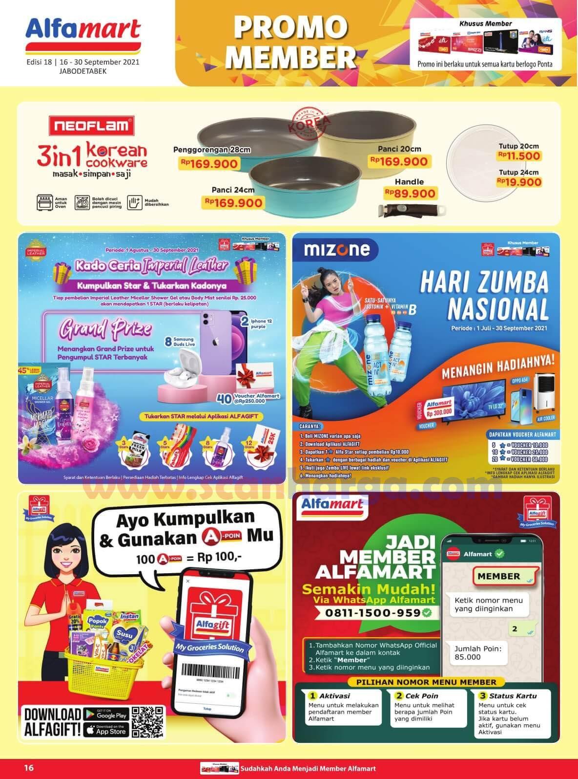 Katalog Promo Alfamart 16 - 30 September 2021 16