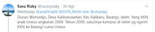Daerah Desa Penari Asli Jawa Timur Banyuwangi