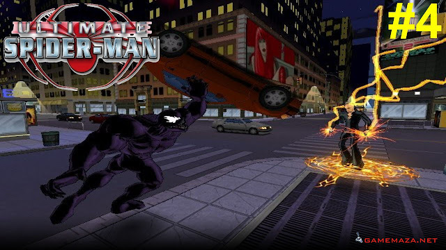 Ultimate Spider Man Gameplay Screenshot 1