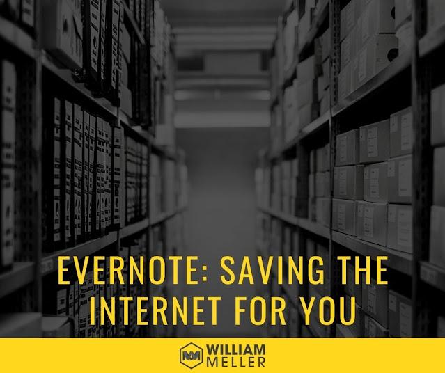 Evernote: saving the Internet for you
