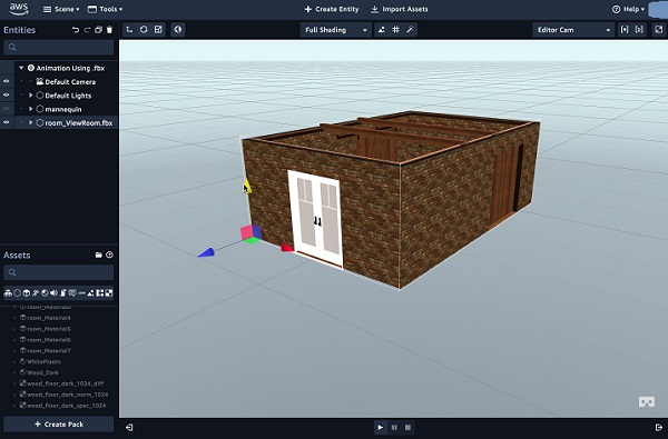 Amazon launches Sumerian - Lets you create VR, AR and 3D apps without requiring any specialized programming or 3D graphics expertise