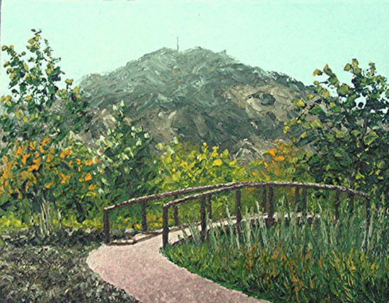 mark jezierny mt diablo painting