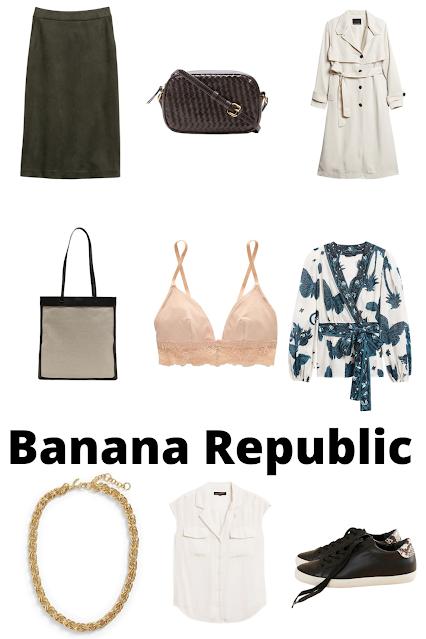 fall fashion at Banana Republic
