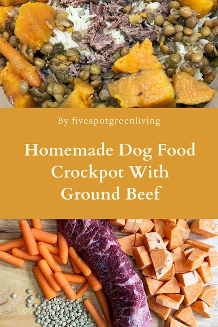 Homemade Crockpot Dog Food Recipe