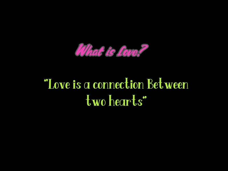 What is love? A little romantic love story (naughty-sweet story)