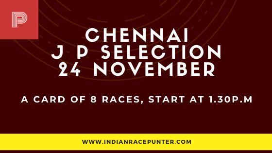 Chennai Jackpot Selections 24 December