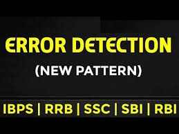 Error Detection questions in English useful for Competitive Exams
