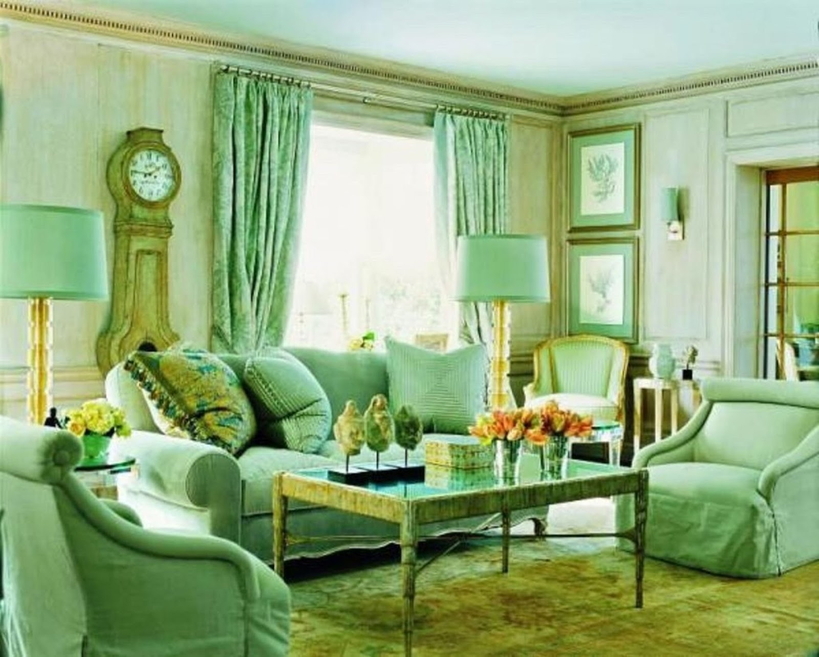 Green Interior Design And Furnitures