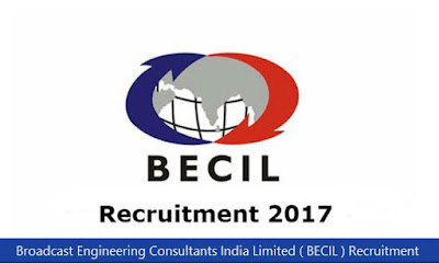 Broadcast Engineering Consultants India Limited ( BECIL ) Recruitment 2018