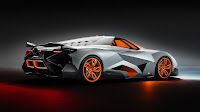 Lamborghini Egoista rear side