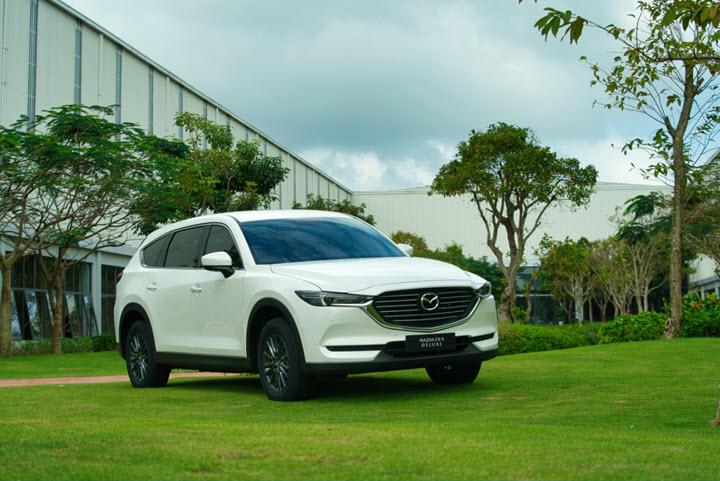 Mazda CX-8 Deluxe và cuộc chiến xe SUV tầm giá 1 tỷ đồng