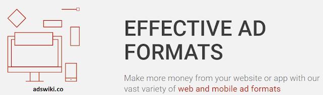 Adsterra advertising formats