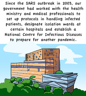singapore national centre for infectious diseases