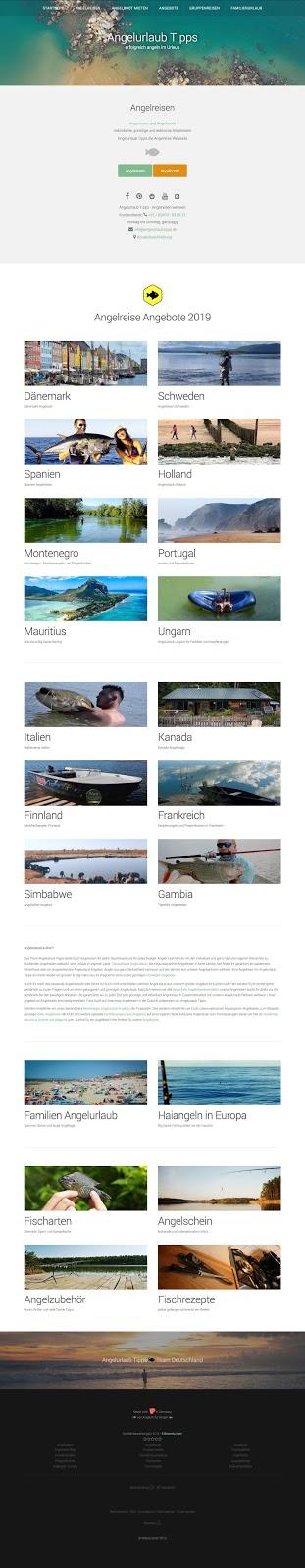 Webseiten Screenshot