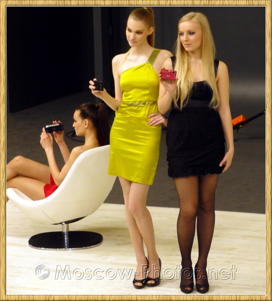Sony beautiful models at Photoforum - 2010