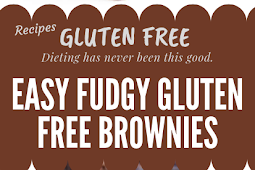 EASY FUDGY GLUTEN FREE BROWNIES #glutenfree
