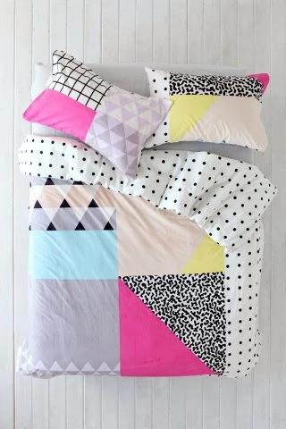 כלי מיטה גאומטרים
