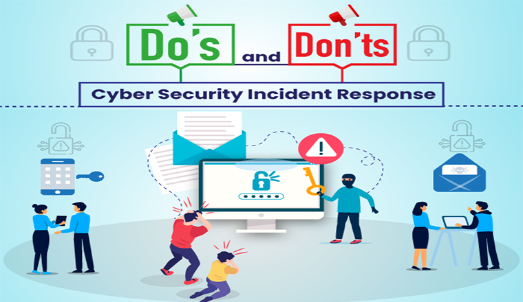 Do's and Don'ts of Cyber Security Incident Response #infographic