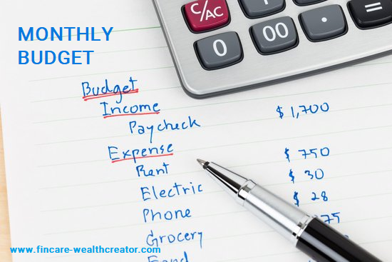 FINANCIAL PLANNING ON MANAGING MONTHLY BUDGET