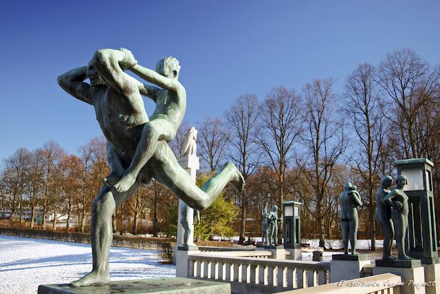 Vigeland Park, Puente - Oslo por El Guisante Verde Project