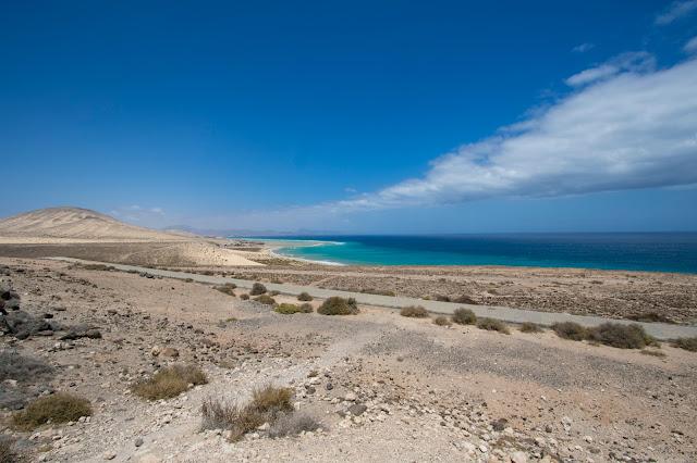 panorama dall'alto di Risco el Paso-Fuerteventura