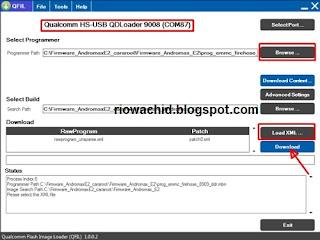 Cara Flash Andromax G2 AD681H via PC Mudah