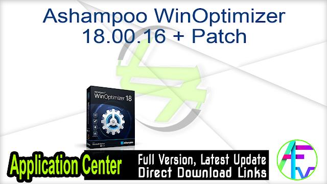 Ashampoo WinOptimizer 18.00.16 + Patch