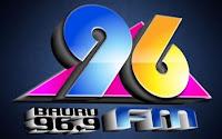 Rádio 96 FM 96,9 de Bauru SP