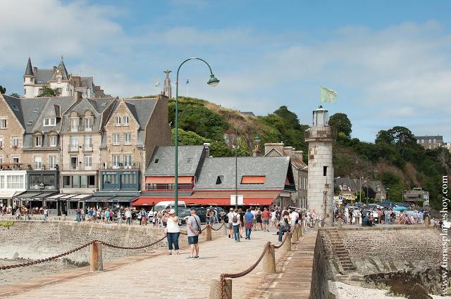Puerto de Cancale que visitar en Bretaña Normandía