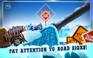 Ice Road Truck Driving Race Apk v1.4 (Mod Money)