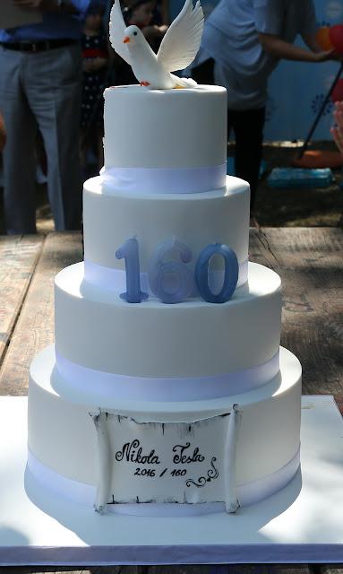 Torta, 160 godina od rođenja Nikole Tesle
