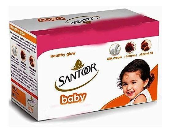Santoor baby soap 3N (125g Each)