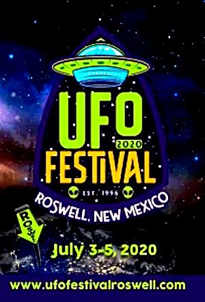 Roswell Festivall 2020 Banner