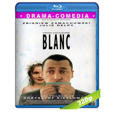 Tres Colores Blanco (1994) BRRip 720p Audio Dual Castellano-Frances 2.0