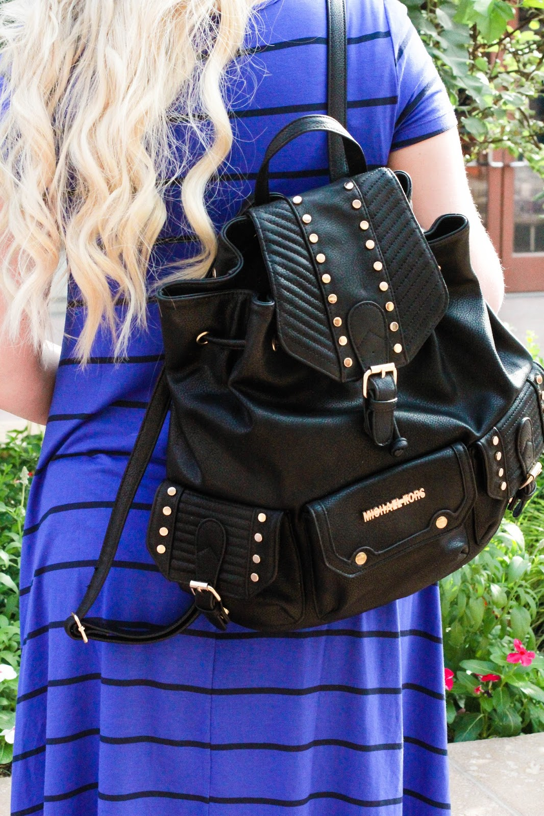 Studded Backpack, Michael Kors