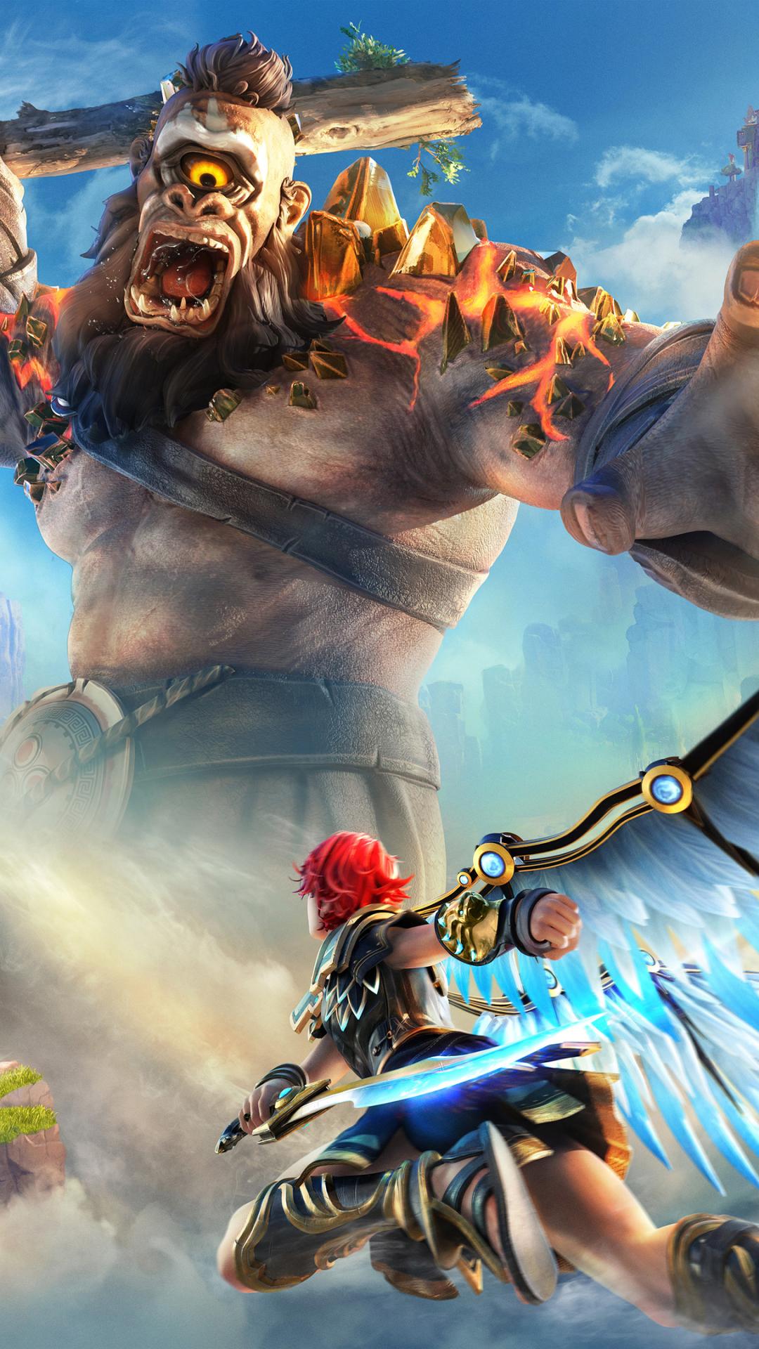 Immortals Fenyx Rising (1080x1920) Mobile Wallpaper