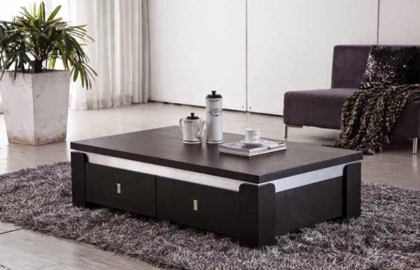 desain meja tamu minimalis modern